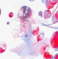 Anime girl Cool Anime Girl, Cute Anime Pics, Sad Anime, Beautiful Anime Girl, Anime Art Girl, Sad Wallpaper, Anime Scenery, Graphic Design Art, Cute Drawings