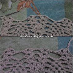 Cris Crochê com Amor: TOP CROPPED DE CROCHÊ COM PASSO A PASSO Crochet Halter Tops, Crochet Bikini Top, Crochet Top, Bikini Pattern, Betty Boop, Bikini Tops, Diy And Crafts, Crochet Necklace, Projects To Try