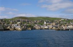STROMNESS beauty of town shaped by the sea