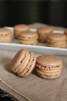 Surprises et gourmandises - Macarons au café