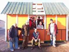 Meanwhile, in Madison, Wisconsin, a group run by Occupy Madison is in the process of building 30 even smaller microhouses for Madison's homeless population.  Each house is only 98 square feet—enough to fit a mattress and a toilet—and outfitted with a solar panel that powers a small heater.