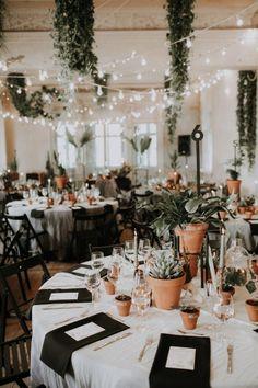 This K. K. fon Stricka Villa Wedding is Full of Eye Candy for Plant Lovers | Junebug Weddings