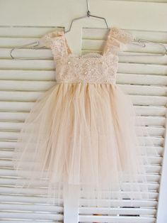 Magic Orchid French lace and silk tulle dress for baby girl Flower girl dress blush princess dress tutu dress