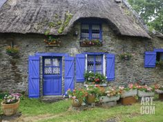 the periwinkle cottage .. X ღɱɧღ   