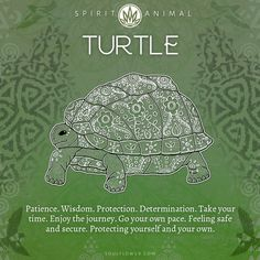 Turtle Spirit Animal, Animal Spirit Guides, Your Spirit Animal, Animal Meanings, Symbols And Meanings, Earth Symbols, Mayan Symbols, Viking Symbols, Egyptian Symbols