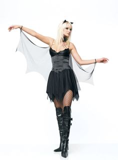 Leg Avenue Bat Costume  £47.99 : Direct 2 U Fancy Dress Superstore. Fancy Dress, Party Themes & Accessories For The Whole Family. http://direct2ufancydress.com/leg-avenue-bat-costume-p-5909.html