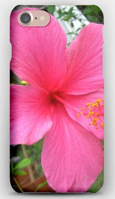 iPhone 7 Case Hibiscus, Blossoms, Stamen, Branch
