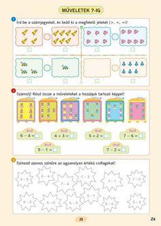 Matematika gyakorló - 1. osztály - Mozaik kiadó - Kiss Virág - Picasa Webalbumok Mathematics, Worksheets, Bullet Journal, Teacher, Education, Learning, School, Maths, Milan