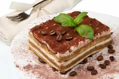 Venetian Tiramisu made the authentic way with Amaretti cookies and marscarpone!