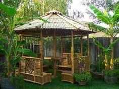 News and Talk about Home Decorating Ideas Bamboo Garden Gazebo Design Gazebo Kits Gazebo Plans Home Design Front Yard Garden Design, Small Front Yard Landscaping, Backyard Plan, Backyard Canopy, Backyard Ideas, Landscaping Ideas, Modern Backyard, Diy Pergola, Gazebo Plans