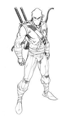 Storm Shadow by RobertAtkins on deviantART Drawing Reference Poses, Drawing Poses, Comic Books Art, Comic Art, Coloring Sheets, Coloring Pages, Warrior Drawing, Ninja Art, Storm Shadow