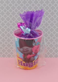 #Trolls Birthday Party Favors