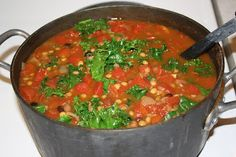 ~The Manna Mama~: Southwestern lentil and black bean soup