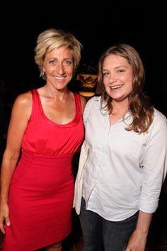 Edie Falco and Merritt Wever. Merritt Wever, Nurse Jackie, Woman Movie, Picture Photo, Actors, Female, Lady, Celebrities, Photography