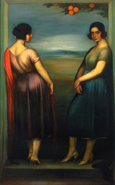The Athenaeum - Carmen and Fuensanta (Julio Romero de Torres - )