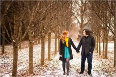 Winter Engagement Session by Sabrina Nohling Photography
