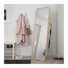 IKORNNES Miroir sur pied - IKEA
