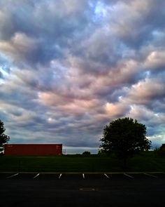 Ohio skies #ohio #sky #clouds #sunrise
