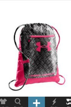 b73803527e Under armour draw string bag