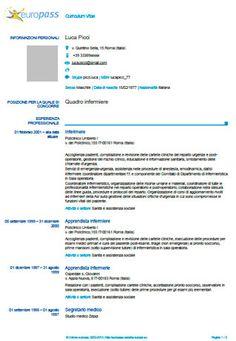 El Curriculum Europass Modelos De Curriculum Vitae Formato De