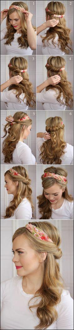 Cute hair band idea