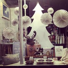 Our Christmas window displays at www.willowandstone.co.uk
