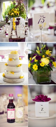 purple and yellow wedding new york 5, real weddings ideas and trends