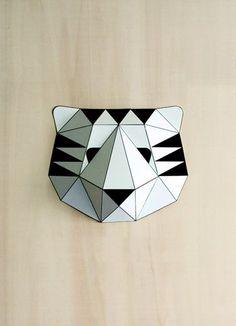 DIY masque papiertigre #diy #crafts