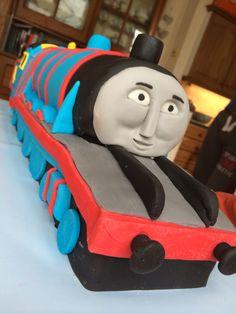 Gordon from thomas the tank engine cake detail crafts gordon cake from thomas the tank engine pronofoot35fo Images