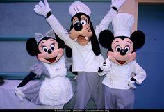 Chef Minnie, Minnie & Goofy