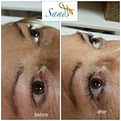 Natural lashes lifted , arched and tinted! Yumilashes at @sandsmk