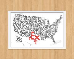 Personalize by coloring all the states I've lived in.