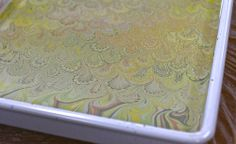 """3-15-14 Paint on the """"Water"""" ready for the Paper   Flickr - Photo Sharing!"""