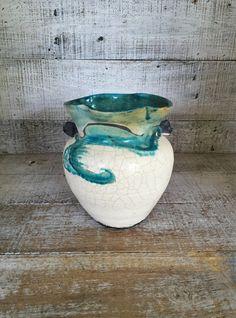 Vase Pottery Vase Mid Century Vase Handmade Vase Stoneware Vase Pottery Flower Vase Boho Pottery Unique Vase Studio Pottery Vase by TheDustyOldShack on Etsy