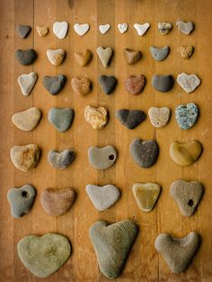 Heart Stones or Rocks from the Oregon Coast