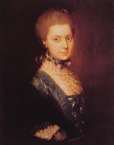 Elizabeth FitzRoy née Wrottesley (1745-1822), Duchess of Grafton. Second wife of Augustus 3rd Duke of Grafton