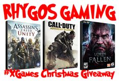 ENDS MIDNIGHT TONIGHT! Don't forget to enter my 2nd #XGames for #Christmas #Giveaway at http://on.fb.me/1sbUyG5    #RT