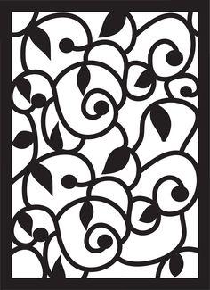Paper Pulse Blog Spot: Swirls, Leaves, and Curls Pattern