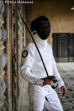 GAJARDONI White Training Suite #scherma #schermastorica #fencing #historicalfencing #hema @perlahasanaj