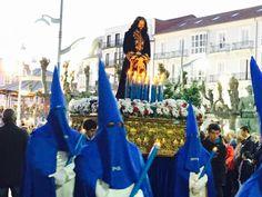 Procesión del Encuentro. Jueves Santo en Santoña. #santoñateespera