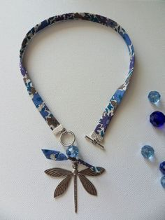 colliers liberty perle - libellule du  14