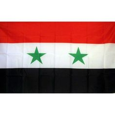 Syria Country Traditional Flag