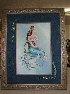 Jill Rensel | Mirabilia Enchanted Mermaid - Jill Rensel framing | Enchante ...