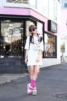 ストリートスナップ原宿 - オクヒラテツコさん | Fashionsnap.com