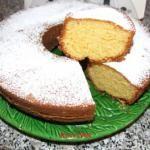 """recipe-Ciambella all'arancia   """"Sofficissima"""""""
