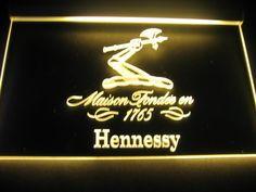 Hennessy 1765 Logo Beer Bar Pub Store Light Sign Neon