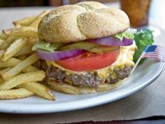 Teds Montana Grill Bison Burger--truth this taste's JUST like the restaurant version, and I would know!! Haha