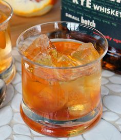 Smooth & Citrusy Winter Cocktail Recipe: Orange Old-Fashioned The 10-Minute Happy Hour