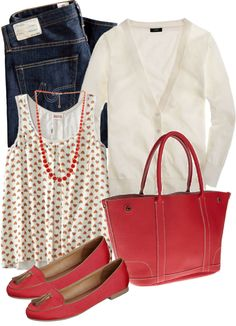"""Red"" by luv2shopmom ❤ liked on Polyvore"