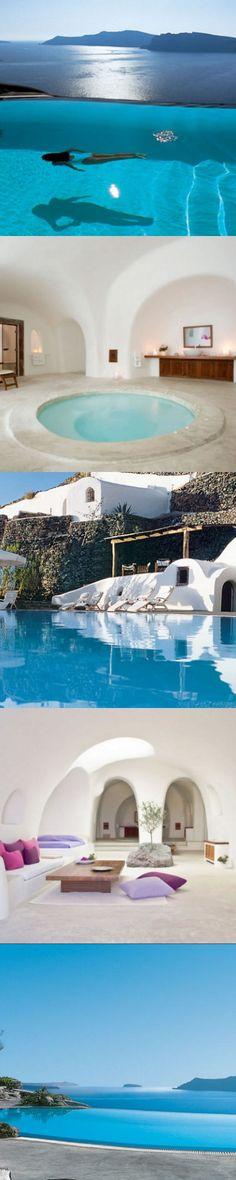 Perivolas, the ultimate in laidback luxury #Santorini #Greece #travel